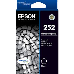 Epson ink cartridge black 252 Genuine
