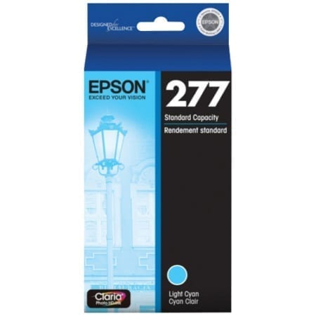 Epson ink cartridges light cyan 277 Genuine