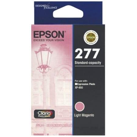 Epson ink cartridges light magenta 277 Genuine