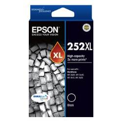 Epson high yield ink cartridges black 252XL Genuine