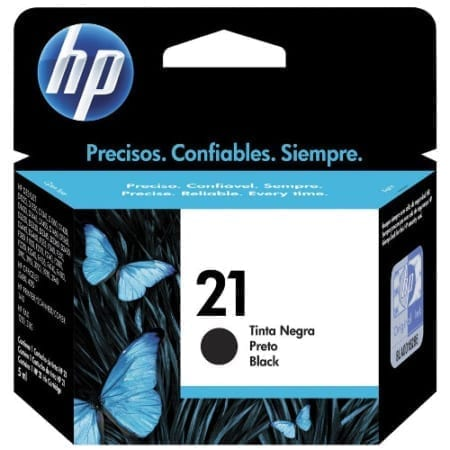 HP 21 Ink Cartridges Genuine