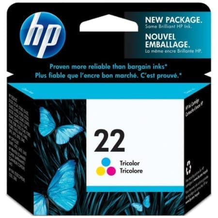 HP 22 Genuine
