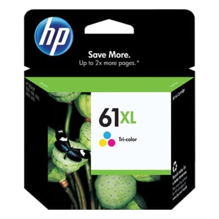 HP 61XL colour high yield Ink Cartridges (CH564WA) Genuine