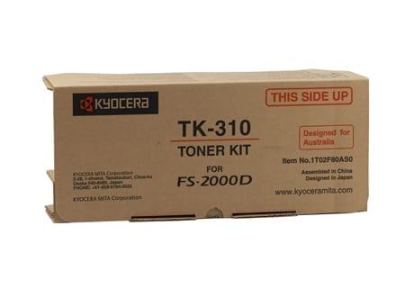kyocera laser toner cartridges black tk-310 genuine