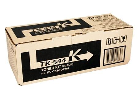 kyocera laser toner cartridges black tk-544k genuine
