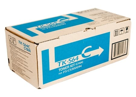 kyocera laser toner cartridges cyan tk-564c genuine