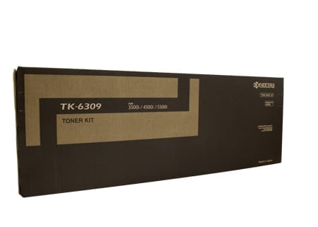 kyocera toner cartridges black tk-6309 genuine