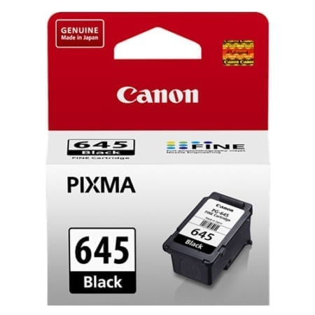 Canon Black Ink Cartridges (PG-645) Genuine
