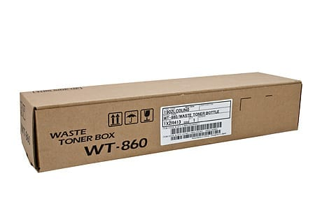 kyocera waste toner bottles wt-860 genuine