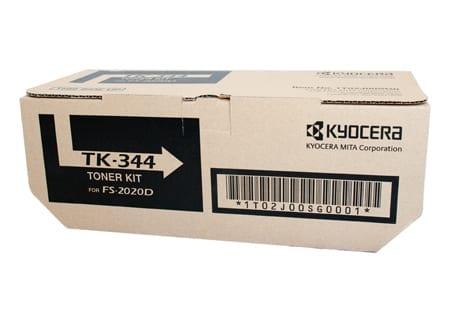 kyocera laser toner cartridges black tk-344 genuine