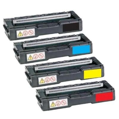 Kyocera Value Pack Black Cyan Magenta Yellow Set (TK-154K-TK-154Y) Compatible