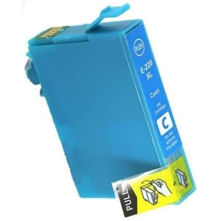 Epson high yield ink cartridges cyan 220XL Compatible