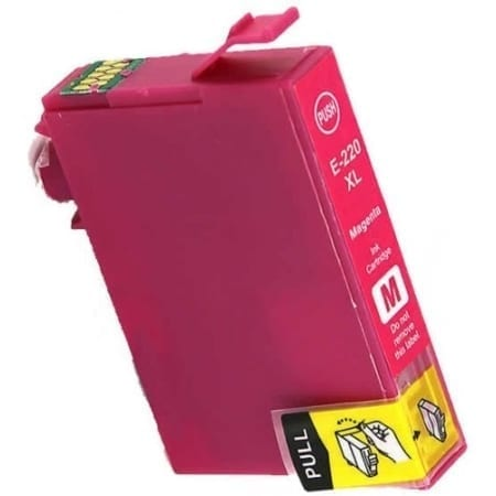 Epson high yield ink cartridges magenta 220XL Compatible