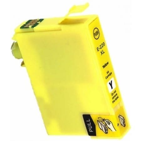 Epson high yield ink cartridges yellow 220XL Compatible