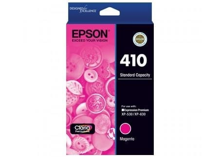 Epson ink cartridges magenta 410 Genuine
