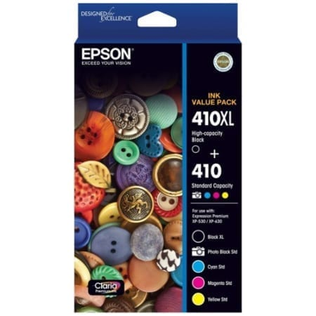 Epson 410XL/410 Genuine