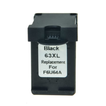 HP 63XL black High Yield Ink Cartridges (F6U64AA) Compatible
