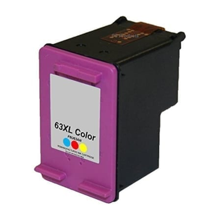 HP 63XL High Yield Ink Cartridges Colour (F6U63AA) Compatible