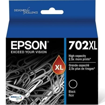 Epson 702XL Ink Cartridges Genuine