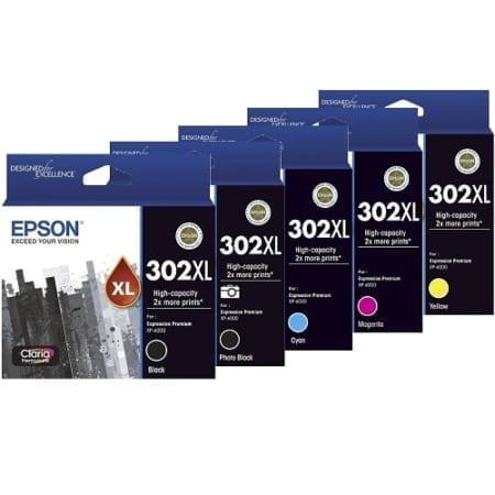 Epson 302XL Ink Cartridges Genuine