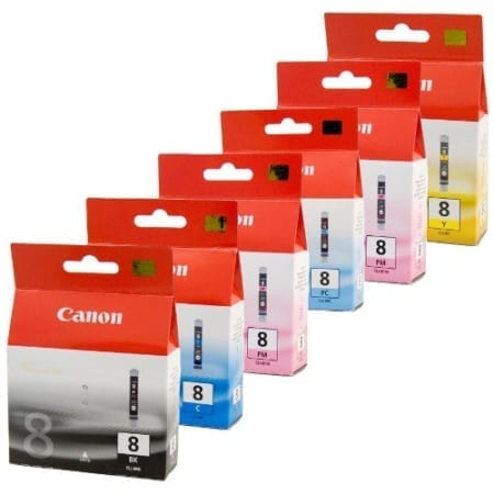 Canon CLI-8 Ink Cartridges Genuine