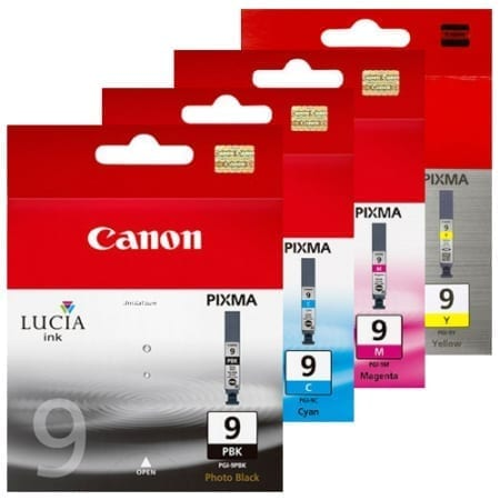 Canon PGI-9 Value Pack Ink Cartridges Genuine