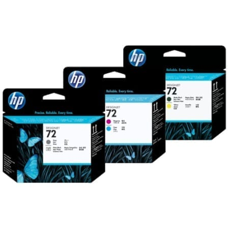HP 72 Printheads Genuine