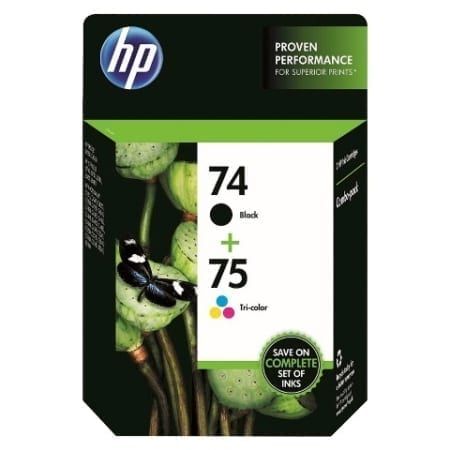 HP 74/75 Ink Cartridges Genuine