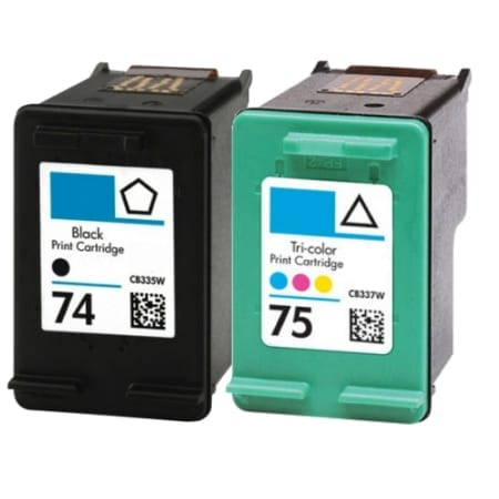 HP 74/75 Ink Cartridges Compatible
