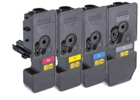 kyocera value pack laser toner cartridges black cyan magenta yellow set (tk-5224k-tk-5224y) compatible