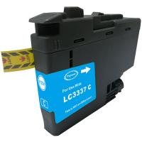 Brother cyan ink cartridges (LC-3337C) Compatible