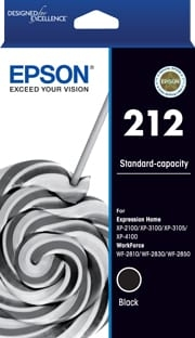 EPSON 212 BLACK GENUINE
