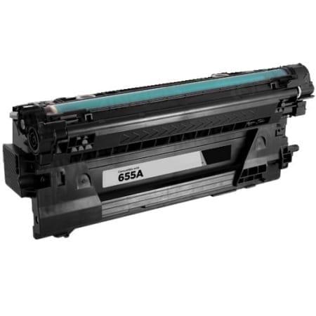 HP 655A Laser Toner Cartridges Black (CF450A) Genuine