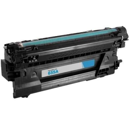 HP 655A Laser Toner Cartridges Cyan (CF451A) Compatible
