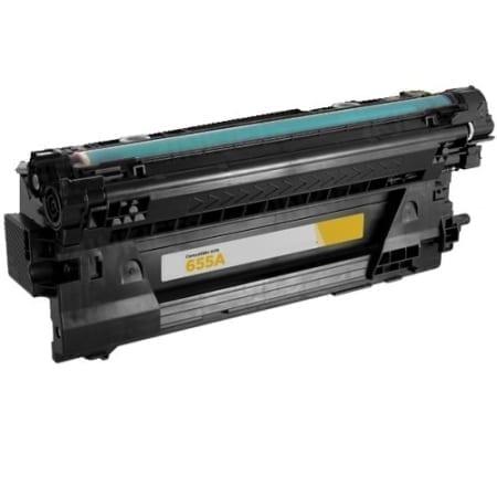 HP 655A Laser Toner Cartridges Yellow (CF452A) Compatible