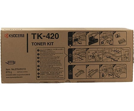 Kyocera Toner Cartridges Black TK-420 Genuine