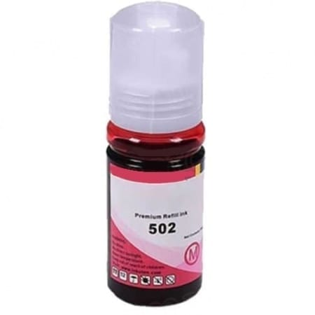 epson eco tank ink bottles magenta t502 compatible