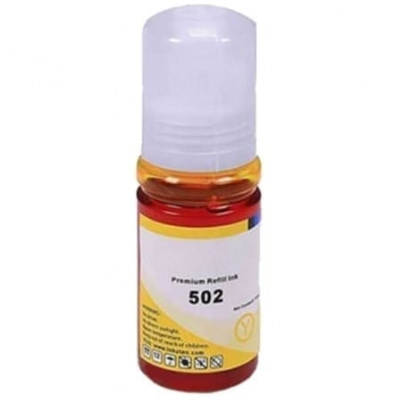 epson eco tank ink bottles yellow t502 compatible