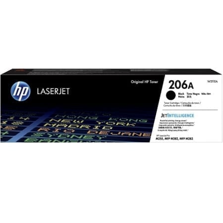 HP W2110A toner cartridges black (206A) genuine