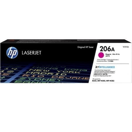 HP W2113A toner cartridges magenta (206A) genuine