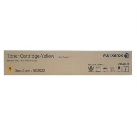 Xerox Yellow Toner Cartridges (CT203027) Genuine