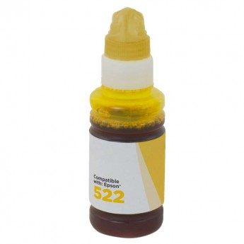 Epson Yellow Ink Bottles (T522) Compatible