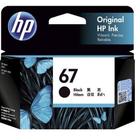 HP 67 black ink cartridges (3YM56AA) genuine