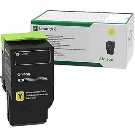Lexmark Yellow Ultra High Yield Toner Cartridges (78C6UYE) Genuine