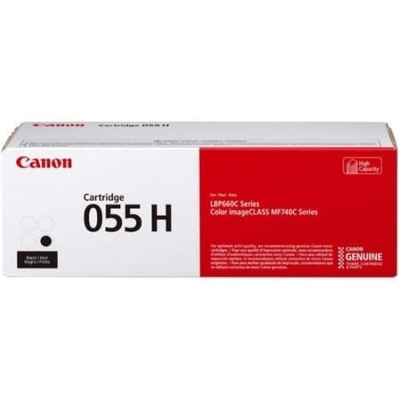 Canon Black High Yield Toner Cartridges (CART055BH) Genuine