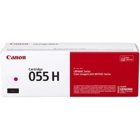 Canon Magenta High Yield Toner Cartridges (CART055MH) Genuine Toner Cartridges