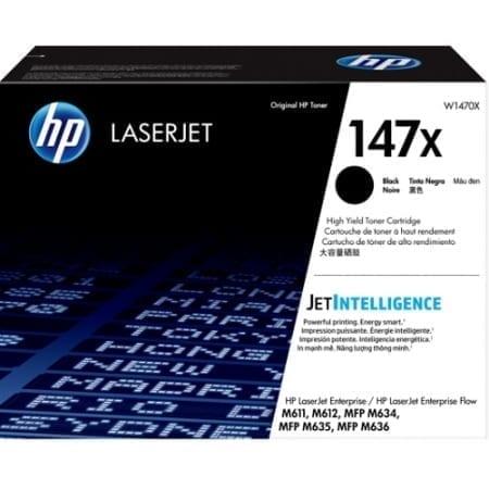 HP 147X Black High Yield Toner Cartridges (W1470X) Genuine