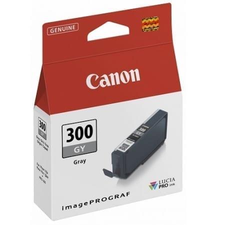 Canon Grey Ink Cartridges (PFI-300GY) Genuine