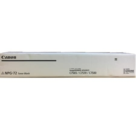 Canon Black Toner Cartridges (TG-72B) Genuine