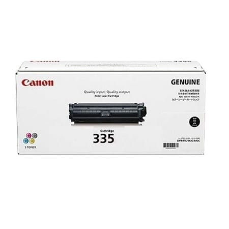 Canon Black Toner Cartridges (CART-335) Genuine